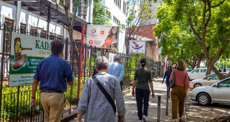 Free Walking Tour Harare