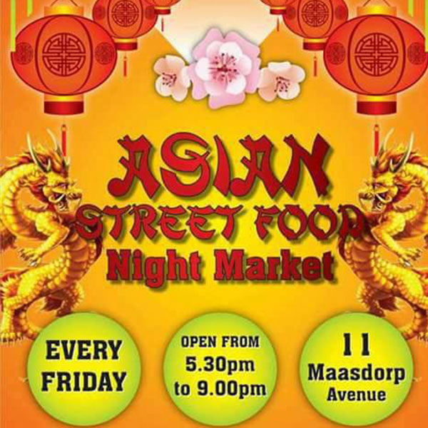 Asian Street Food Night Market