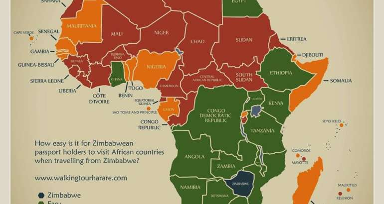 Places Zimbabweans Can Visit Without A Visa