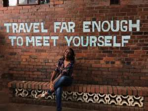 Travel Far Enough To MEet Yourself (@im_aube)